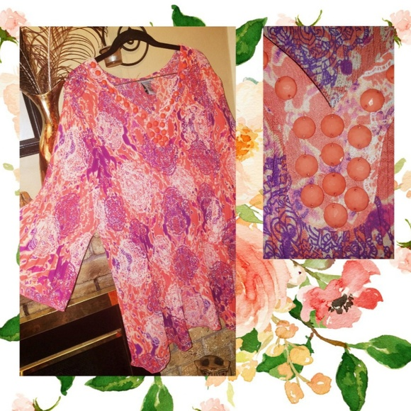 5bf099f1d1 💕🆕️NWT Stunning Catherine s Blouse